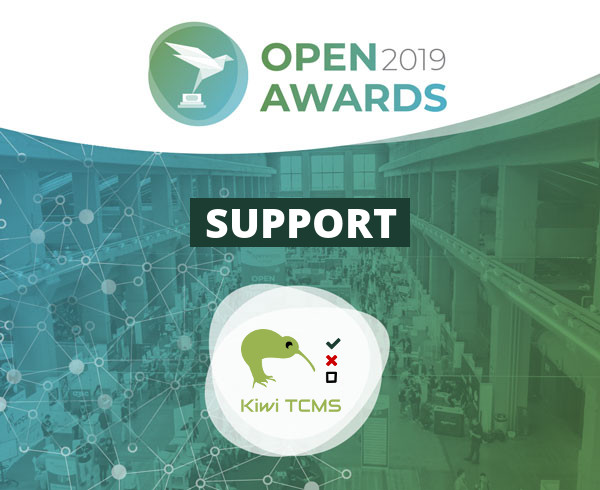 Vote for Kiwi TCMS at OpenAwards 2019